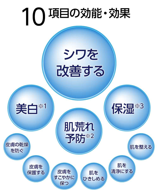 10項目の効能・効果〈医薬部外品〉